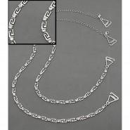 Bra Straps - Z Link With Clear Rhinestones