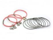 Charm Bracelets + Metal Bangles Set - BR-HB003B-LRO