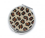 Pocket Mirror - Stoned Leopard Print - MR-GM1274LEP