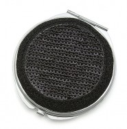 Pocket Mirror - Sequined - Black -MR-GM1284B