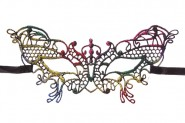 Mask – Multi-Color Butterfly Lace Masquerade Mask